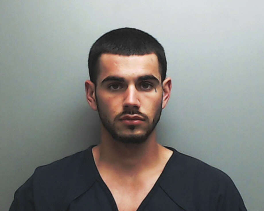 Kyle Sample, a man accused of a fatal shooting in San Marcos, is accused of starting a fire in the Jack Harwell Detention Center. Photo: Hays County Jail