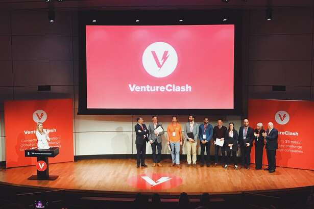 The 2017 winners of VentureClash, following the competition held Oct. 20, 2017, at Yale University. Winner Friss got $1.5 million from Connecticut Innovations to extend its operations to Connecticut from its home base in The Netherlands, ultimately choosing to forgo the offer in favor of a U.S. office in Chicago.