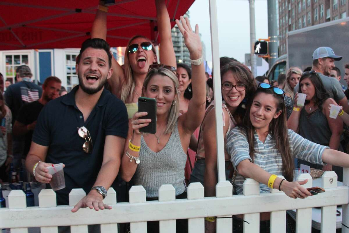 Sean Kingston headlined Alive@Five in downtown Stamford on July 12, 2018. Were you SEEN?