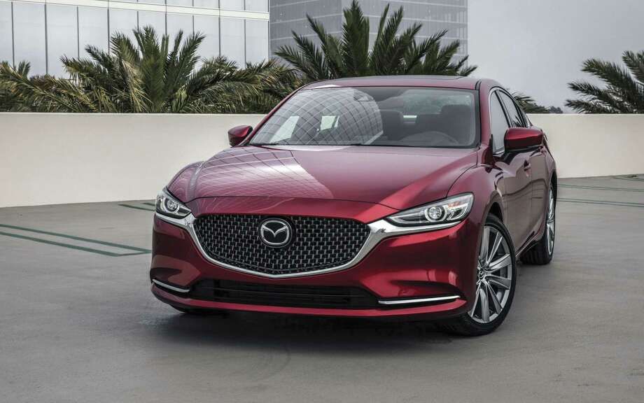 Though few will ever see velocities close to 149 mph, that's the top speed Mazda cites for the turbocharged Mazda6. And that's limited by aerodynamic drag, not electronics. If you're wondering, the 2018 Mazda6's coefficient of drag is 0.285. (Mazda photo)