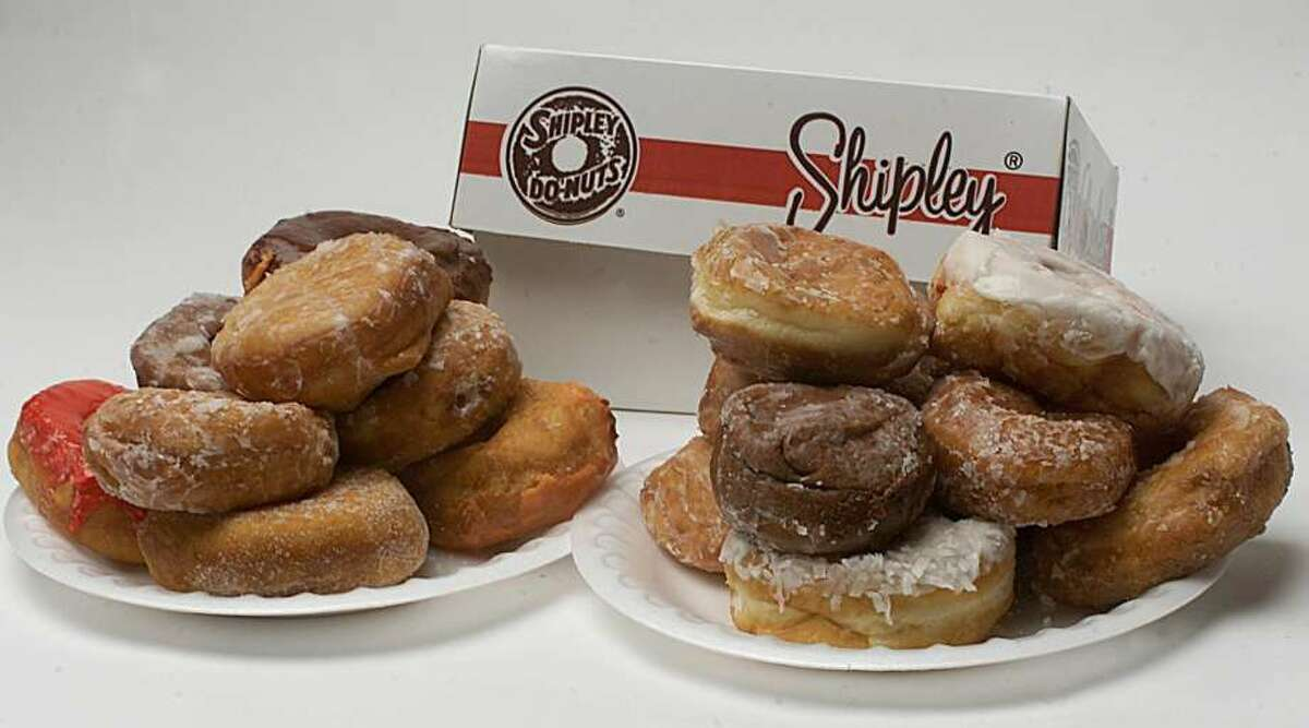 Shipley's doughnuts. There are few things better than a warm glazed Shipley's doughnut. If it's a long-distance care package, send a Shipley's mug.