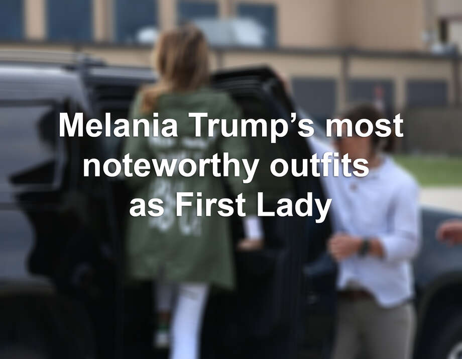 >> See Melania Trump's most noteworthy and headline-making outfit choices since becoming First Lady... Photo: Getty Images