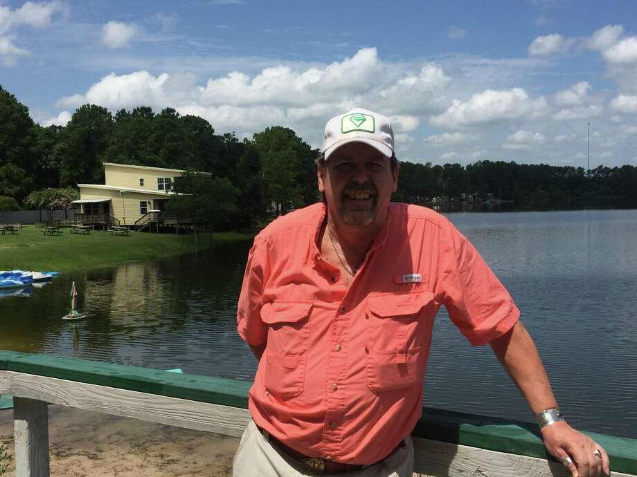 Fred Everson is the controller of Emerald Lake Naturist Resort and RV Park, a nudist campground and resort in south Montgomery County. Take a photo tour of the facility ---> Photo: Photo By Jeff Forward/The Villager / Photo By Jeff Forward/The Villager