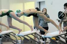 Greenwich Academy's Kate Hazlett was an All-American performer in the 50 freestyle and the 100 backstroke.