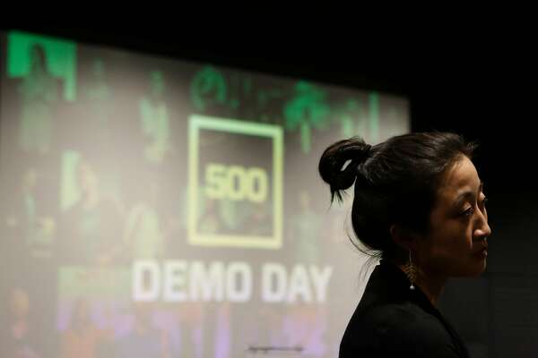 Christine Tsai, CEO of 500 Startups, attends the 500 Startups Demo Day at Bespoke in the Westfield San Francisco Centre on Thursday, June 28, 2018 in San Francisco, Calif.