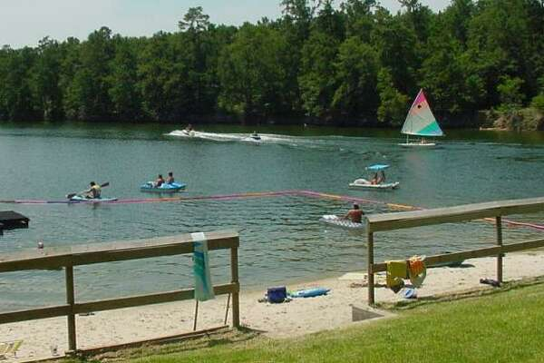 Scenes from the  Emerald Lake Naturist Resort and RV Park , which is located in Montgomery County.