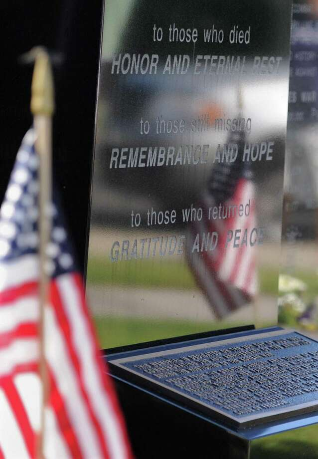 Photos from the Korean War Memorial Ceremony at Rogers Park in Danbury, Conn. on Saturday, July 27, 2013.  The ceremony celebrated the 60th anniversary of the armistace, thanking those who fought and remembering those who died during the Korean War. Photo: Tyler Sizemore / Tyler Sizemore / The News-Times