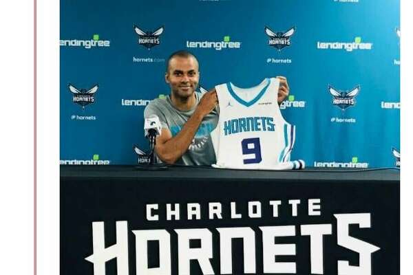 Tony Parker changed his Facebook profile Friday to show he was officially part of the Charlotte Hornets.
