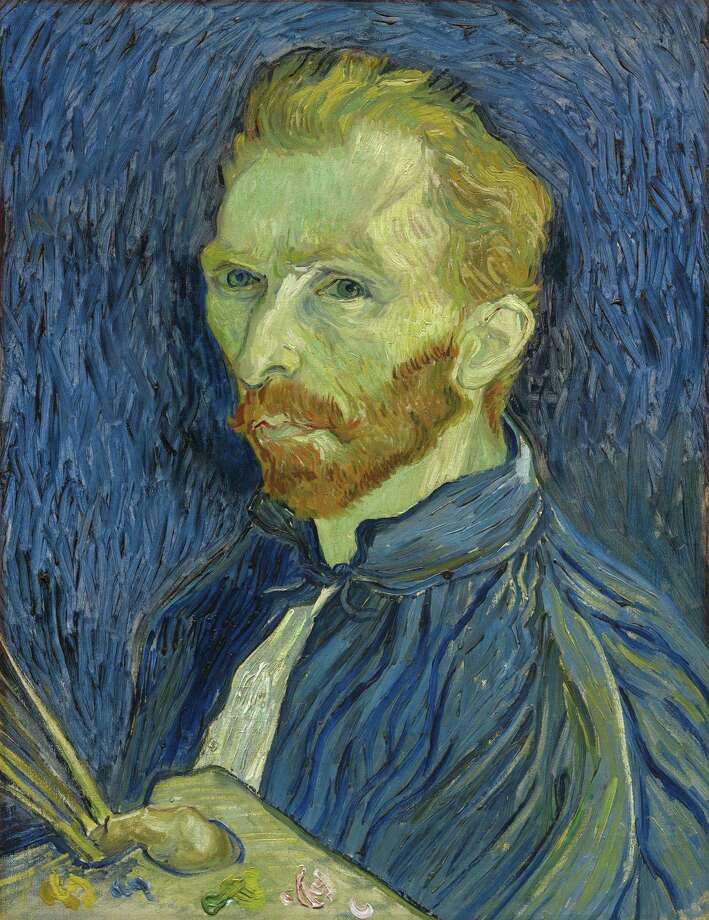 "Vincent van Gogh had an explosive hot streak in 1888, producing more than 200 paintings, including ""Van Gogh's Chair,"" ""Starry Night"" and ""Still Life: Vase With Sunflowers."" Photo: Studio A / / Internal"