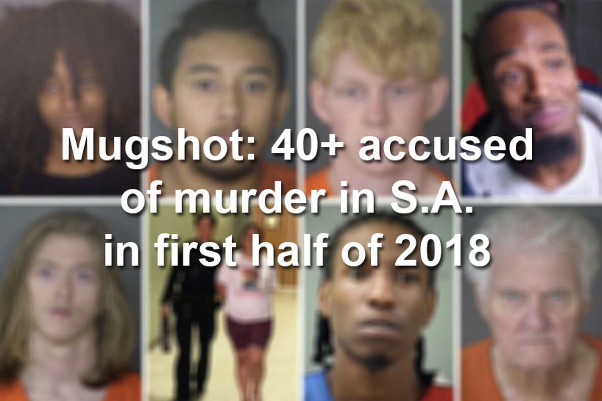 Click ahead to see the mugshots for the people accused of murder in the first half of 2018 in San Antonio, according to records.