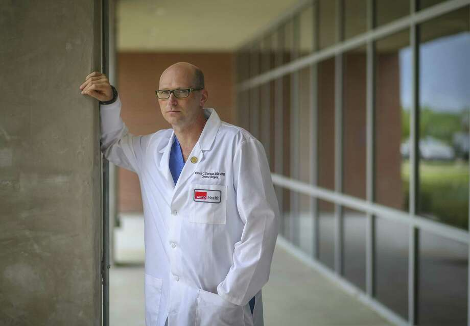 Dr. William Sherman acted quickly durning Harvey and saved a man's leg from potentially being amputated. Photo: Mark Mulligan, Houston Chronicle / Houston Chronicle / © 2018 Houston Chronicle