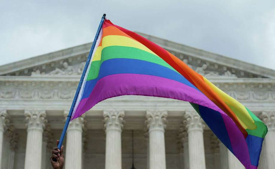 Cases involving gay rights and bakers and florists have been before the Supreme Court. A reader says, in the cake case, blame lies with the same-sex couple in not recognizing bakers were out there who wouldn't object to baking it. Photo: MOLLY RILEY /AFP /Getty Images / AFP or licensors