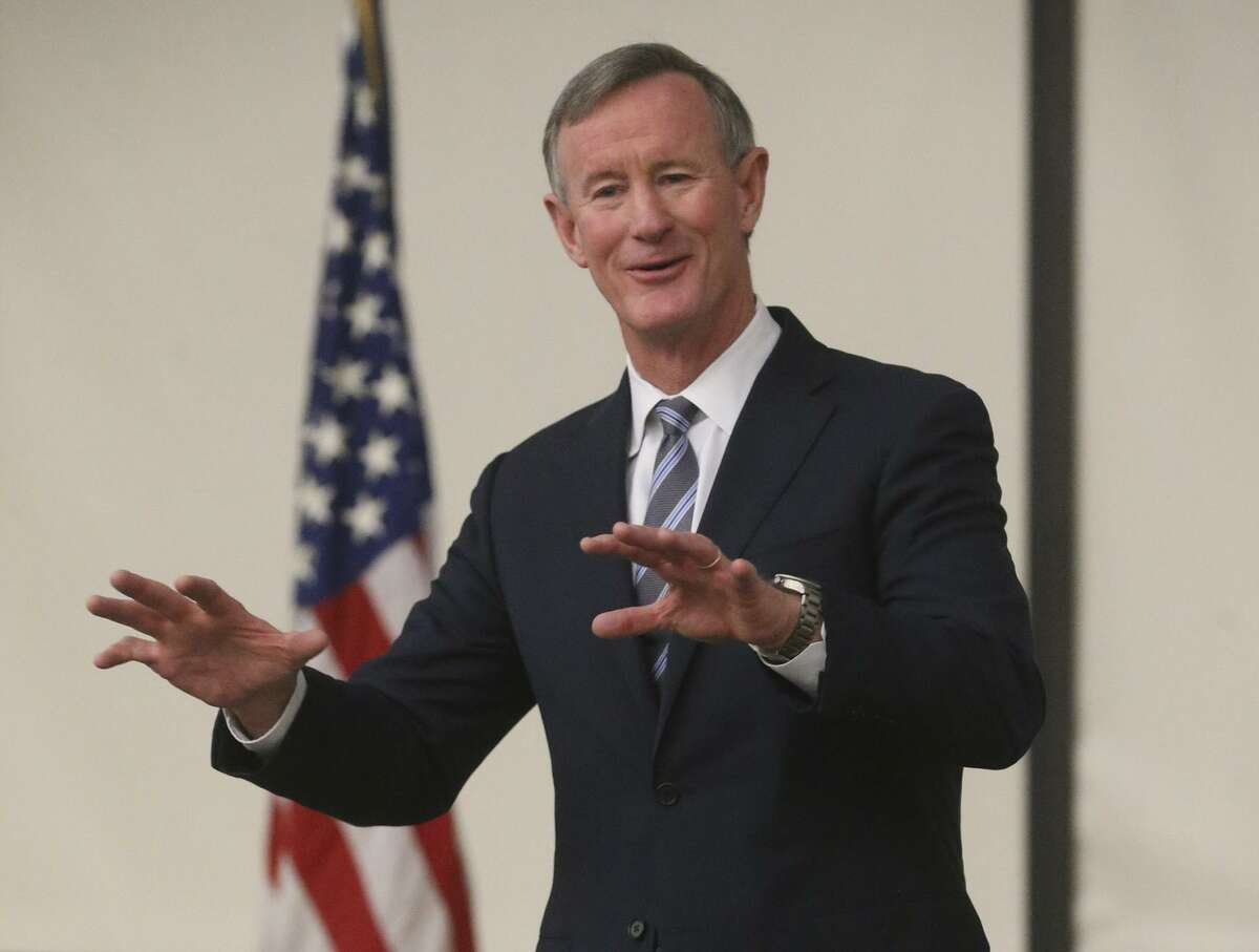 Former University of Texas System Chancellor Retired Admiral William McRaven