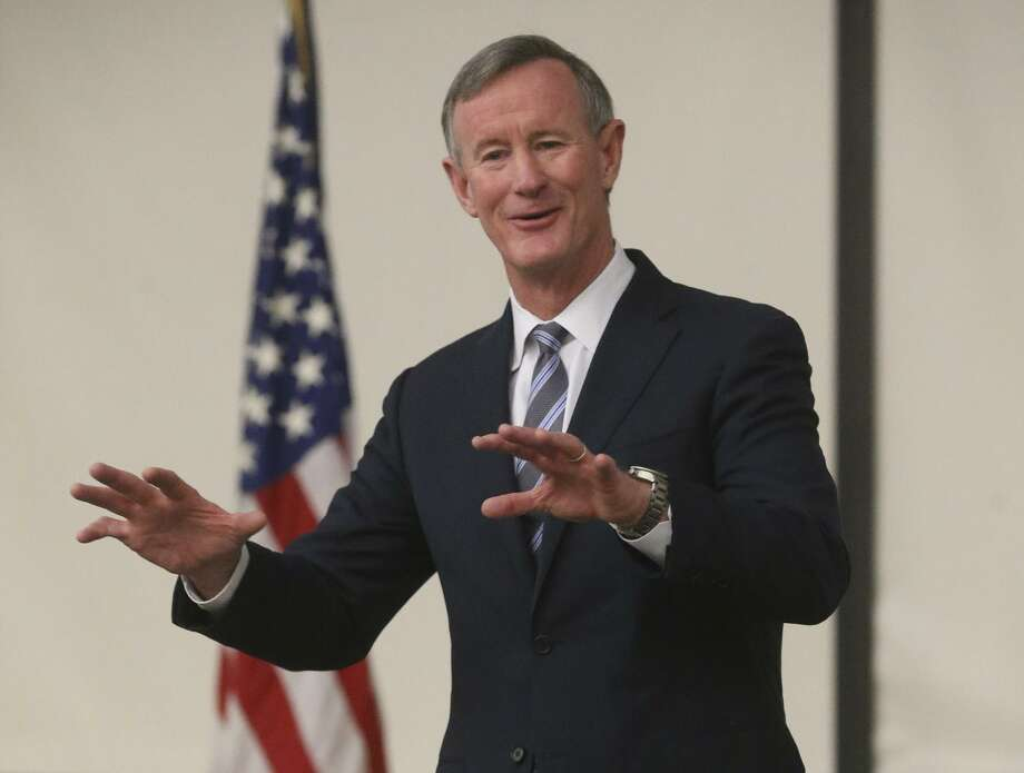 Former University of Texas System Chancellor Retired Admiral William McRaven Photo: John Davenport, STAFF / San Antonio Express-News / ©John Davenport/San Antonio Express-News