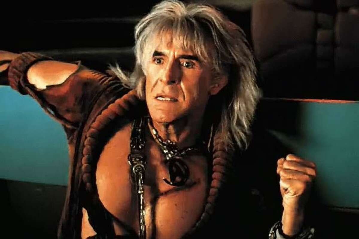 Ricardo Montalban as the villain Khan in 1982's