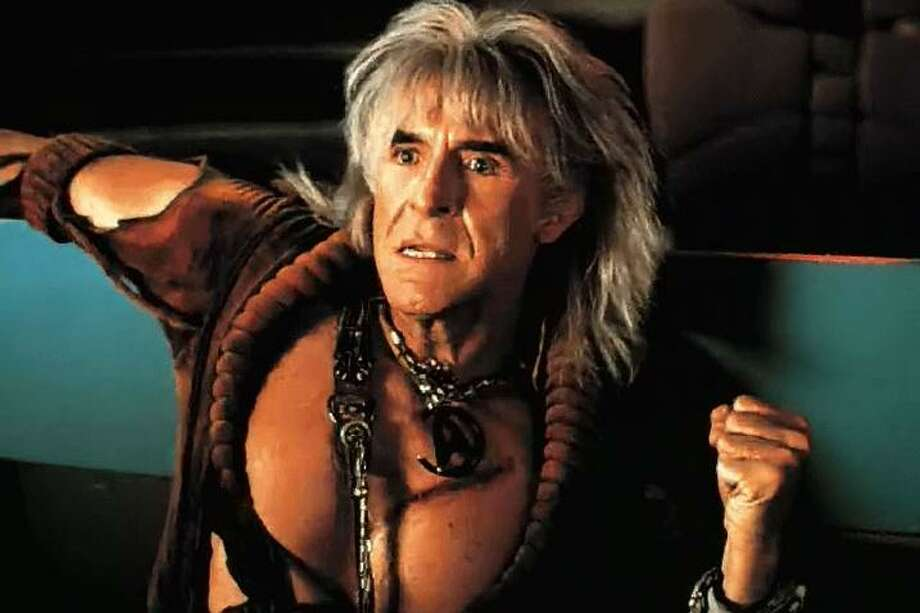 "Ricardo Montalban as the villain Khan in 1982's ""Star Trek II: The Wrath of Khan."" Photo: Paramount 1982 /"