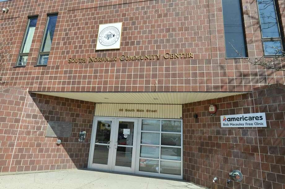 The South Norwalk Community Center. Photo: Alex Von Kleydorff / Hearst Connecticut Media / Norwalk Hour