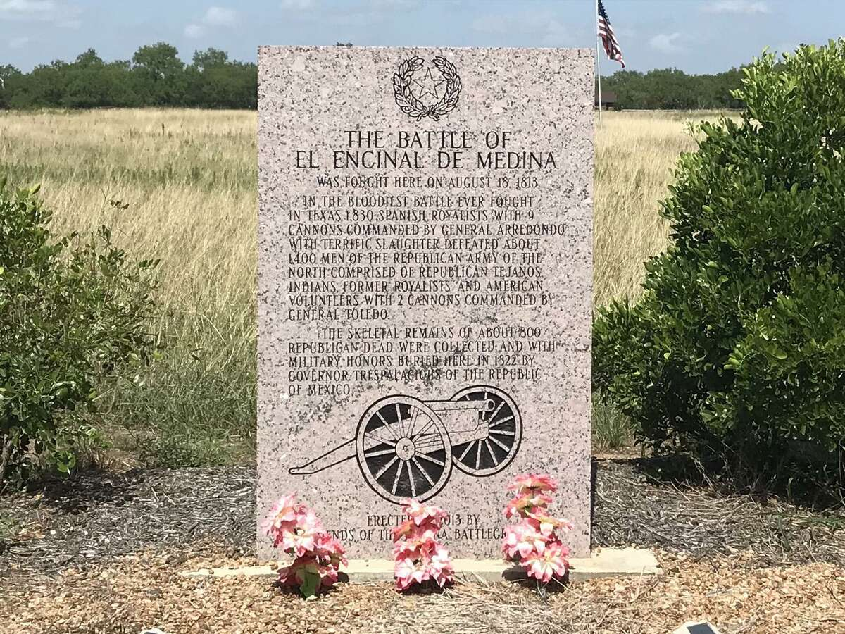 At least a dozen sites have been suggested as the site of the Battle of Medina, including this field near Old Pleasanton Road south of San Antonio.
