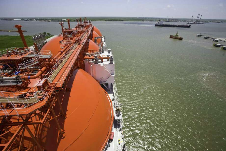 The Jones Act, which requires vessels moving cargo between two U.S. ports to be U.S. built, owned and crewed, has kept American LNG from getting delivered to U.S. regions, particularly New England, that experience natural gas shortages. Photo: MICHAEL STRAVATO, STR / New York Times / NYTNS
