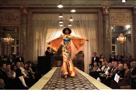 "Diana Ross in the 1975 film ""Mahogany."""