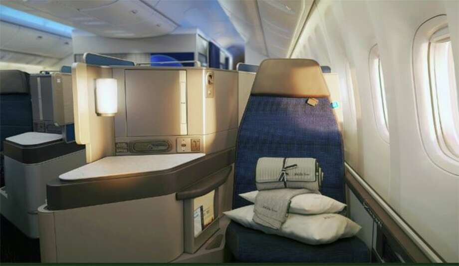 United's new PlusPoints plan is designed to make it easier for loyal fliers to upgrade to business class Photo: United