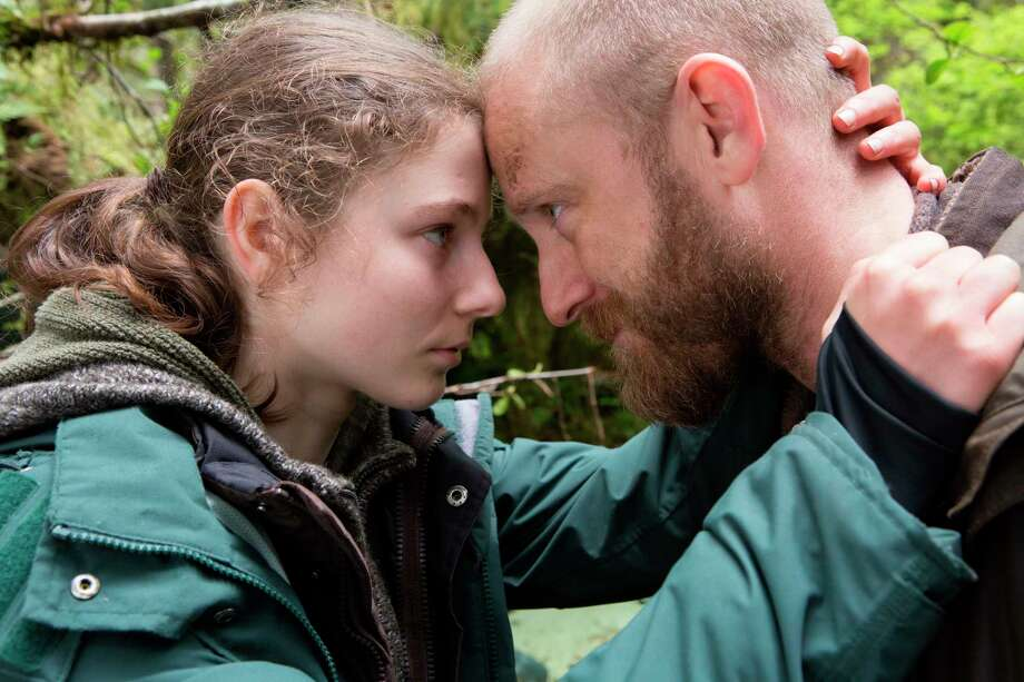 """This image released by Bleecker Street shows Thomasin Harcourt McKenzie, left, and Ben Foster in a scene from """"Leave No Trace."""" (Scott Green/Bleecker Street via AP) Photo: Scott Green / MAB Productions"""