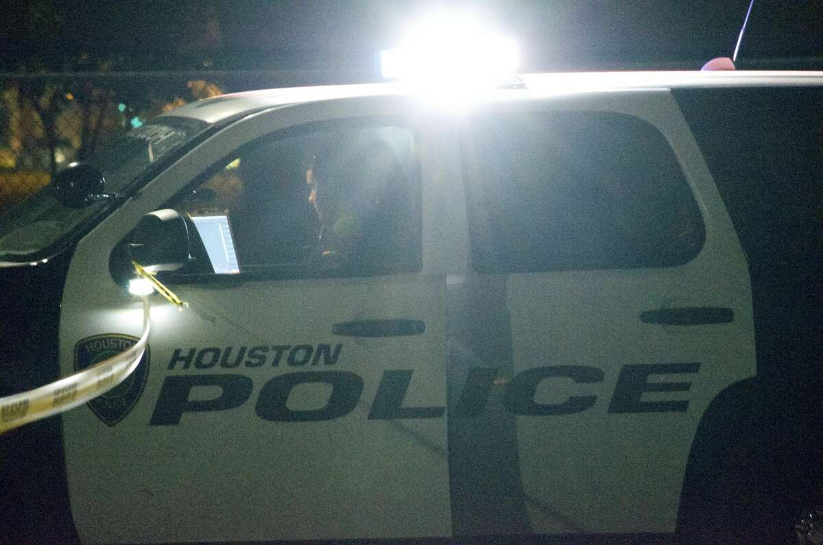 One person was shot outside a southwest Houston park Friday night, police said.