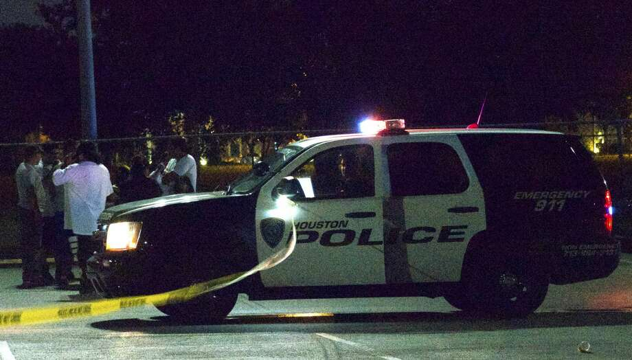 One person was shot outside a southwest Houston park Friday night, police said. Photo: Jay R. Jordan