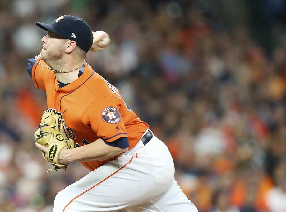 Brad Peacock will make his first start of the season Tuesday with Lance McCullers Jr. on the disabled list. Photo: Elizabeth Conley/Houston Chronicle