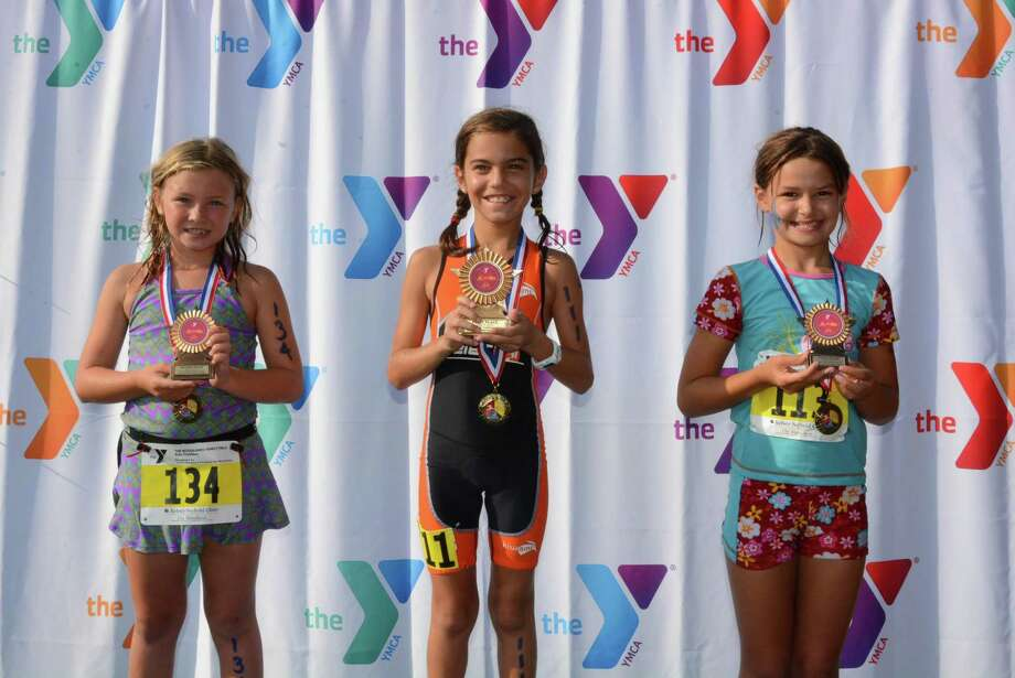 """The in-person 2020 YMCA Kids Triathlon, a popular short-course event for children ages 5 years old to 15 who are just learning the sport, has been canceled and will instead be conducted in a """"virtual"""" manner, with kids doing the events alone with a parent or coach timing their effort. Registration ends Oct. 21. Photo: Photo Courtesy The South County YMCA"""