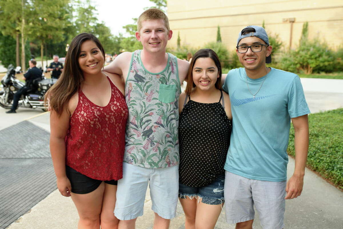 Fans of Paramore at Cynthia Woods Mitchell Pavilion on Friday, July 13, 2018