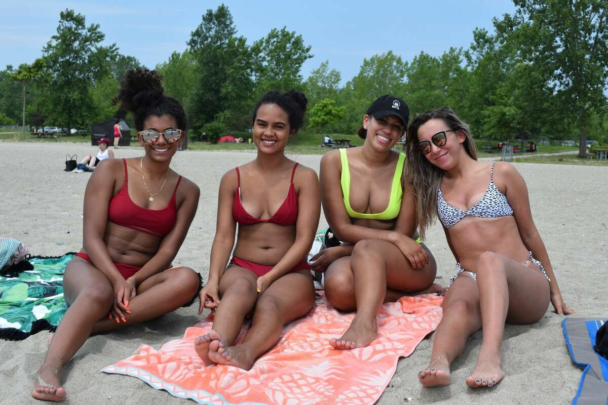 Beach goers enjoyed the summer weather at Sherwood Island in Westport on July 14, 2018.  Were you SEEN?