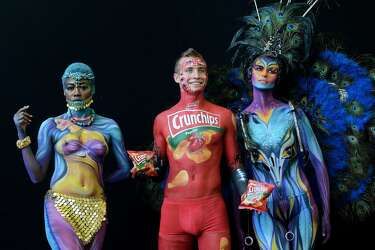Photos World Bodypainting Festival Gets Creative Naked In Austria