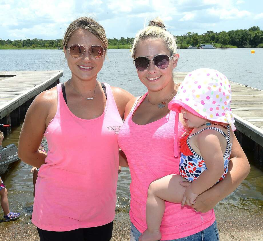 "Shari Woolverton, Payton and Tayleann McDonald were at ""Rumble on the River,"" a high-energy jet ski racing competition, hosted by The City of Orange and TX H20 Racing. Admission to the event is free, with concessions and children's activities on site. The competition, which brings together racers from throughout the Southern region, continues Sunday, beginning at 10 a.m. at the City of Orange Boat Ramp.