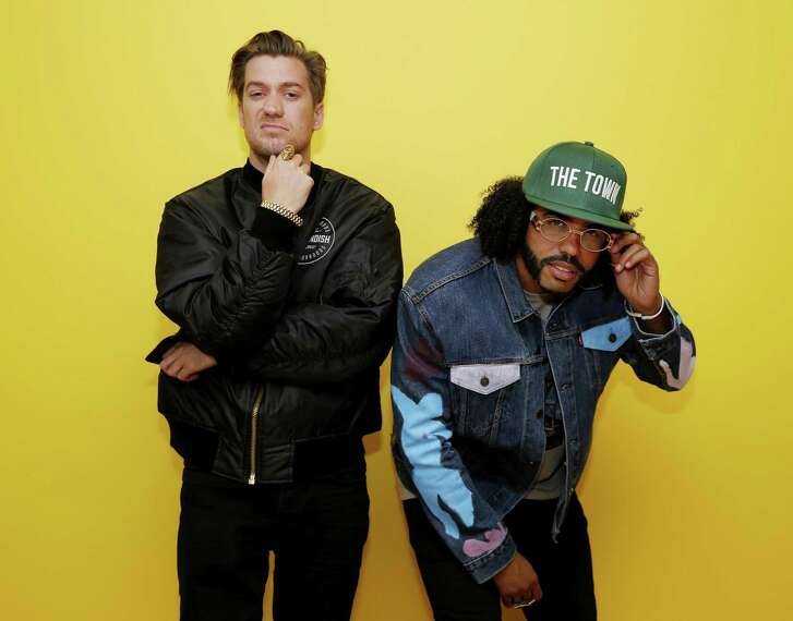 """Rafael Casal (left) and Daveed Diggs co-wrote """"Blindspotting,"""" and also star in the movie."""
