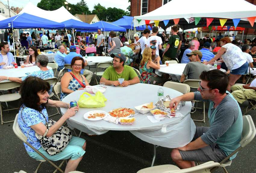 The 40th annual Our Lady Queen of the Apostles Parish Summer Festival Food & Craft Fair at St. Mary's Church Grounds in Derby, Conn., on Saturday July 14, 2018.