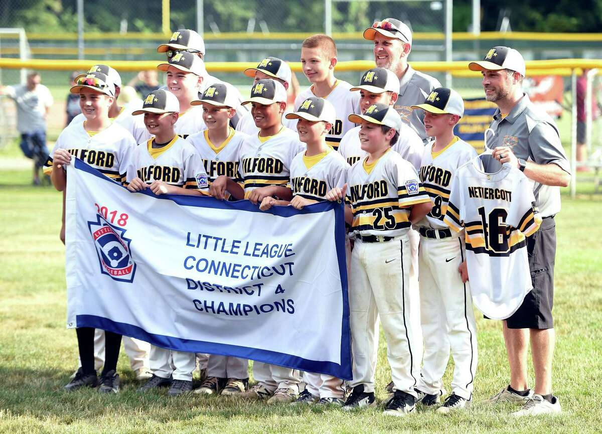 Milford's Lou Gehrig Little League team beat North Haven's Max Sinoway sqaud 3-1 in the District 4 Little League championship game on Saturday.