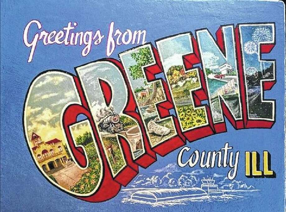 A completed Greene County postcard. Photo:       Photo Provided