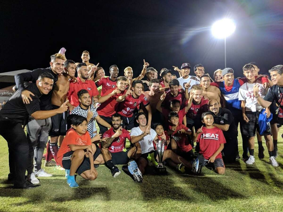 The Laredo Heat rallied from a two-goal deficit in the second half and beat the Houston Dutch Lions FC 4-3 in overtime Saturday at Dustdevil Field to win the Lone Star Conference championship.