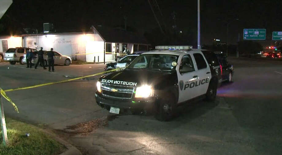 Three people were shot late Saturday during a drive-by on Old Spanish Trail, according to police. Photo: Metro Video