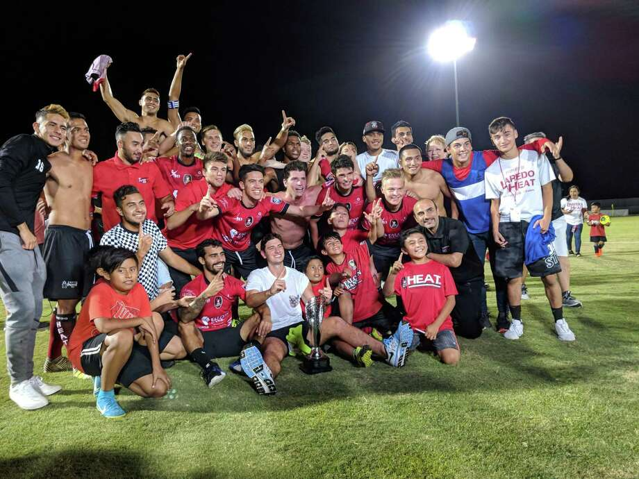 Winners of the Lone Star Conference Championship a year ago, the Laredo Heat will return to the pitch this year kicking off NPSL play with Tyler FC on May 18 at Texas A&M International's Dustdevil Field. Photo: Jason Mack /Laredo Morning Times File