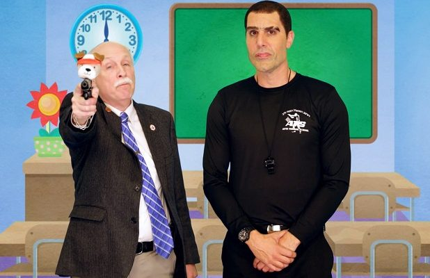 Watch Sacha Baron Cohen Clown Pro-Gun Republicans on 'Who Is America?': 'Happy Shooting, Kids' (Video)