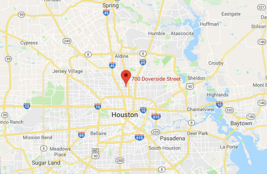 An officer-involved shooting drew investigators to north Houston on Sunday. Photo: Google Maps