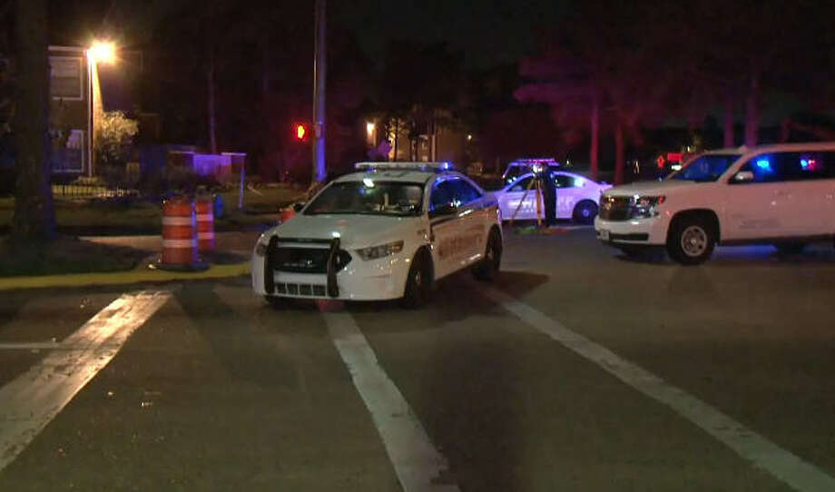 A pedestrian was killed in an overnight crash on West Road. Photo: Metro Video