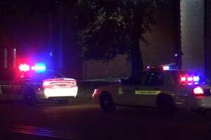 One person was shot early Sunday at La Bella Vista Apartments.
