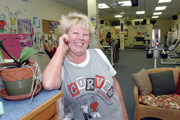 Patty Wick is manager of Curves of East Hampton................TW photo.......043004