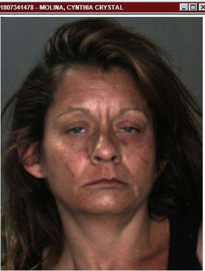 Cynthia Christine Molina was arrested Wednesday on suspicion of stabbing a man, but police soon learned that wasn't the full story of how the incident came about. Photo: Courtesy Redlands Police Department