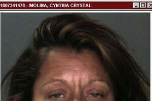 Cynthia Christine Molina was arrested Wednesday on suspicion of stabbing a man, but police soon learned that wasn't the full story of how the incident came about.