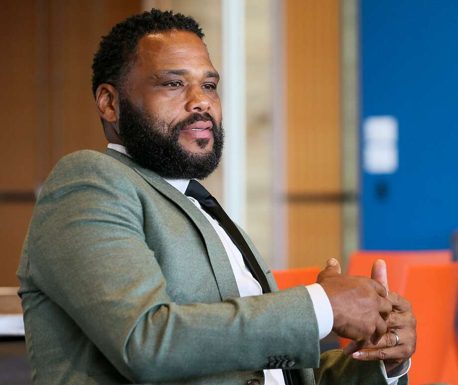 Actor Anthony Anderson discusses his diabetes journey and how minorities are struggling with the illness during an interview at the NAACP convention at the Convention Center on Sunday, July 15, 2018. Photo: Marvin Pfeiffer, Staff / San Antonio Express-News / Express-News 2018