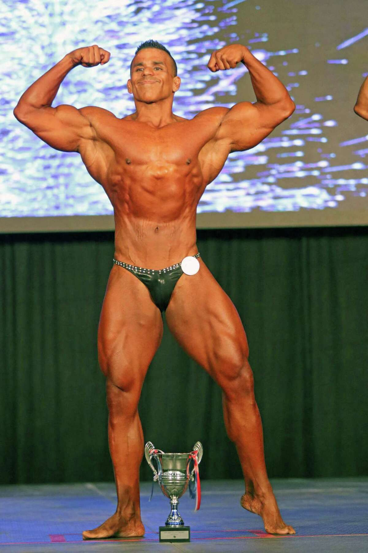 Jerry Aguilar took first in two events at the Battle on the Bay.